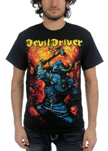 DevilDriver - Uomo Warrior T-Shirt in Nero, XX-Large, Nero