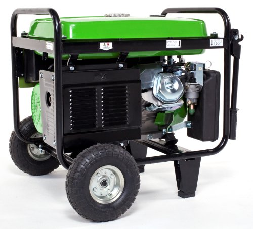 Lifan Lifan Energy Storm ES5500-CA 5500 Watt Lifan 11 HP OHV 337cc 4-Stroke Gas Powered Portable Generator with Wheel Kit and Never-Flat Foam Filled Tires (CARB Certified)