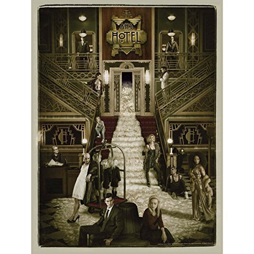 American Horror Story Hotel Lobby Giclee Print [18x24] by FX Shop