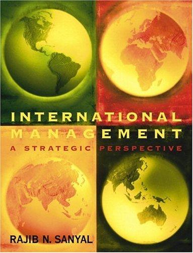 International Management: A Strategic Perspective