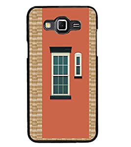 PrintDhaba Window Design D-3220 Back Case Cover for SAMSUNG GALAXY GRAND 3 (Multi-Coloured)