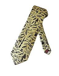 Museum Artifacts Mens Aviation Airplanes Necktie - Beige - One Size Neck Tie