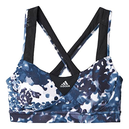 Women's adidas Supernova Bra - Print, Multicolor/Black, XL (Adidas Energy Sports Bra compare prices)