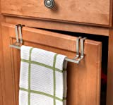 Over Door Towel Holder Brushed Nickel