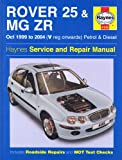 Mike Edge Rover 25 and MG ZR Petrol and Diesel: 99-04 (Haynes Service and Repair Manuals)