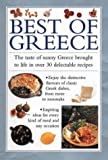 img - for Best of Greece: The Taste of Sunny Greece Brought to Life in30 Delectable Recipes (Cook's Essentials) book / textbook / text book