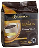 Gevalia Morning Roast Coffee (Medium, 12-Ounce Servings), 14-Count T-Discs for Tassimo Coffeemakers (Pack of 2)