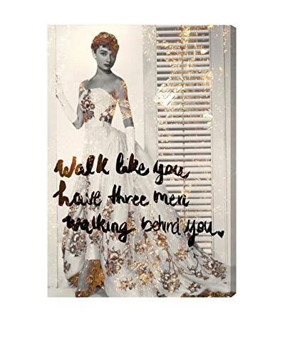 Oliver Gal Walk Like You Have Canvas Art