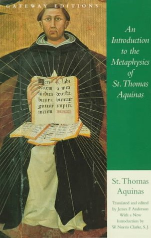 An Introduction to the Metaphysics of St Thomas Aquinas089526692X