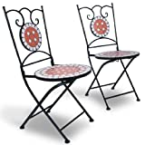 Jago MGTS01 Mosaic Garden Table with Chairs