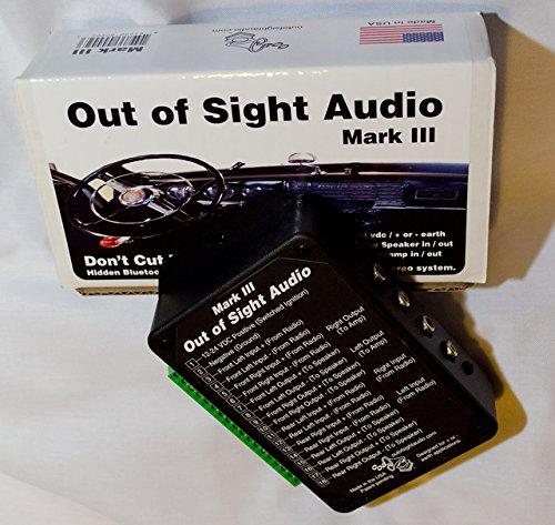 Mark III -Secret or Hidden Audio Device - Classic / Vintage Car Radio - Bluetooth - 4 Channels & RCA's