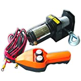Neiko ATV Electric Cable Winch with Handheld Remote Control - 1500 LB Capacity