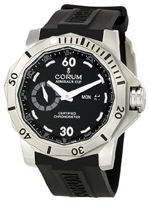 Corum Men's 947.950.04/0371 AN12 Admirals Cup Black Dial Watch