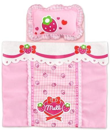 Futon Strawberry Nakayoshi parts Mel Mel Chan Chan (japan import)