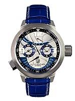 Mathis Montabon Reloj automático Mm-02 Réserve De Marche Azul 47  mm