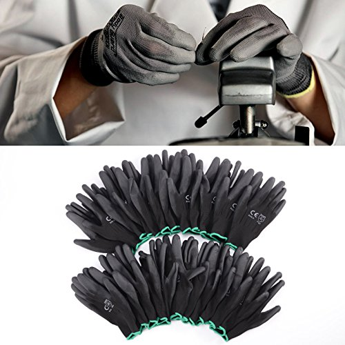 12-pairs-black-nylon-pu-safety-work-gloves-builders-grip-palm-coating-gloves-size-xl