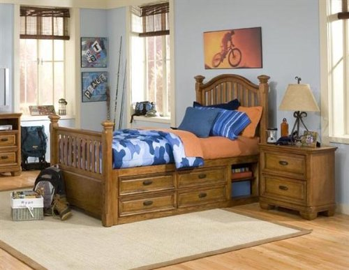 Cheap 977 Expedition Low Poster Bedroom Set by Legacy Classic Kids (B0030NCYKI)