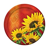 Creative Converting 8 Count Sturdy Style Paper Dinner Plates, 8.75