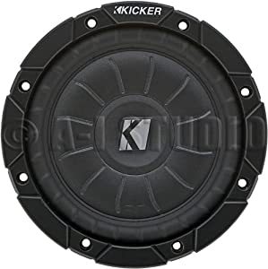 Kicker 6.5Inch Shallow Mount Subwoofer 4 Ohm from KICKER 6.5INCH SHALLOWMOUNT SUBWOOFER 4 OHM