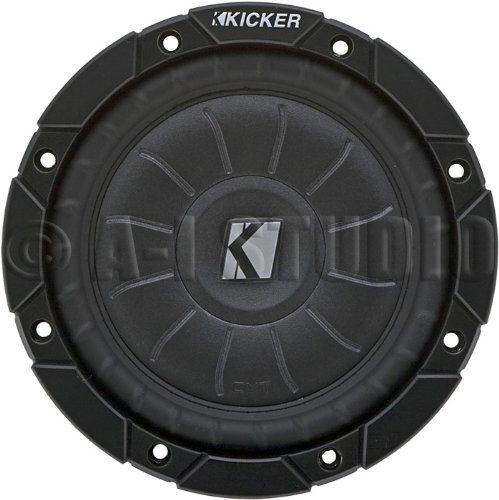 Kicker Compvt65 6.5Inch Subwoofer 4 Ohm