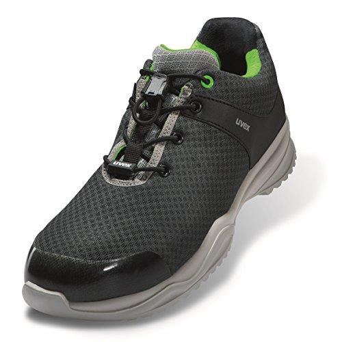 Uvex SPORTSLINE Chaussure de Sécurité / de Travail S1P ESD Chaussure Basse Extra-Légère Unisexe MADE IN ITALY