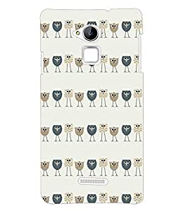 Fuson Zoo Zoo Cartoons Back Case Cover for Coolpad Note 3