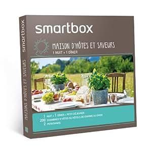 SMARTBOX - Coffret Cadeau - Maison d'hôtes et saveurs