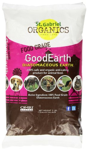 GoodEarth Diatomaceous Earth Supplement for Chicken and Farm Animals,NET WT 2 LBS (Chicken Wormer compare prices)