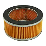Replacement Yellow Pleated Paper Round Air Filter Element 4.2