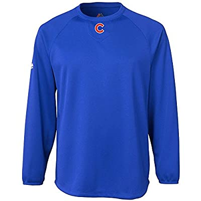 Chicago Cubs Home Plate Tech Fleece Pullover by Majestic Athletic