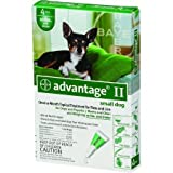 Advantage 2 Dog Green 0-10pound/4pack