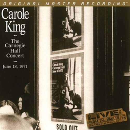 Album Art for Carnegie Hall Concert: June 18 1971 by CAROLE KING