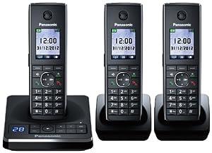 Panasonic KX-TG8563EB Trio Corldess DECT Telephone set with Colour screen and Answer Machine.
