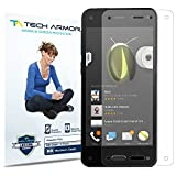Tech Armor Amazon Fire Phone High Defintion (HD) Clear Screen Protectors -- Maximum Clarity and Touchscreen Accuracy [3-Pack] Lifetime Warranty