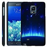 [ManiaGear] [GUARD] Design Graphic Image Shell Cover Hard Case (Blue Falling Sky) for Samsung Galaxy Note Edge