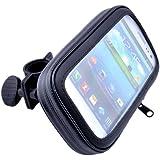 Patuoxun® Wetterfest Fahrrad / Motorrad Halter Tasche für iPhone 6 5S 5C 5 HTC ONE M8 M7 Samsung Galaxy S5 S4 S3 SIII