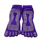 Viskey Women Yoga Socks, Purple