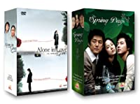 Korean Tv Drama 2-pack Alone In Love Spring Days from YA Entertainment