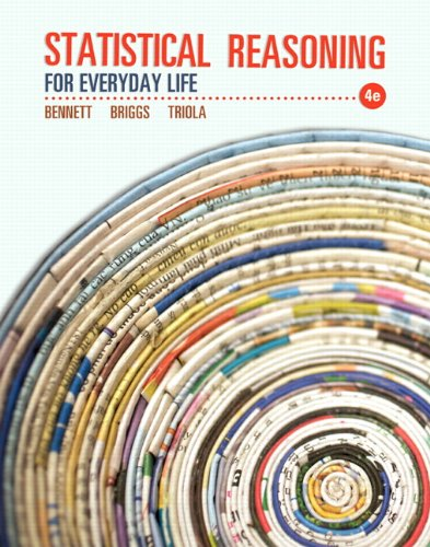 Statistical Reasoning for Everyday Life (4th Edition) (Statistical Tables compare prices)