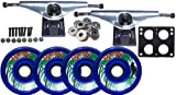 BIGFOOT PARADISE Longboard Package 76mm - 9.63 in Trucks