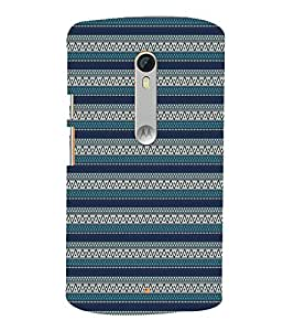 Green Tribal Clothing 3D Hard Polycarbonate Designer Back Case Cover for Motoroal Moto X Play