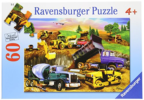 Ravensburger Construction Crowd - 60 Piece Puzzle - 1