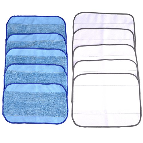 keepow-microfiber-mopping-cloths-5-wet-5-dry-for-braava-380-380t-320-mint-4200-4205-5200-5200c-robot
