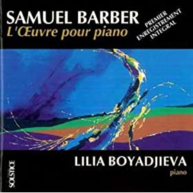 Barber: L'?uvre pour piano