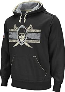 Reebok Oakland Raiders Vintage Applique Hooded Sweatshirt by Reebok