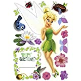 Tinker Bell and the Disney Fairies Wall Stickers (1 sheet)