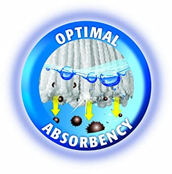 Vileda Easy Wring  amp  Clean - Recambio de microfibra para fregona ... 9e26642c7b0