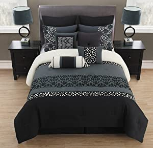 gray bedding sets wT25yl6z