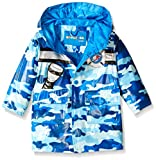 Wippette Baby Camo with Chopper Rainwear, Blue, 24 Months