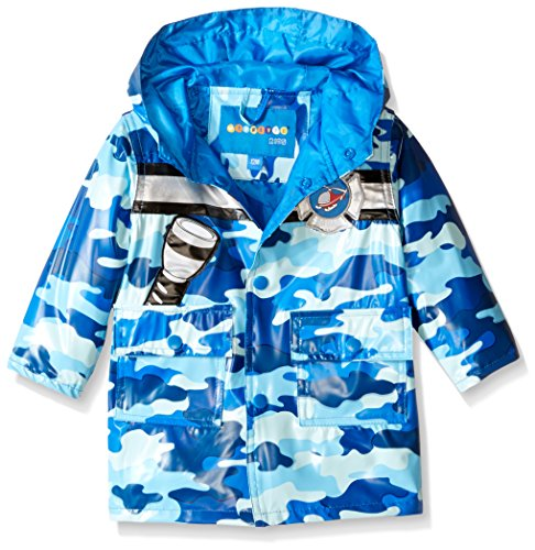 Wippette Baby Camo with Chopper Rainwear, Blue, 12 Months (Chopper Wear compare prices)